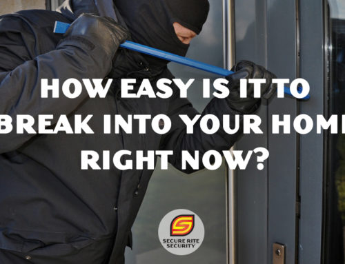 How easy is it to break into your home right now?