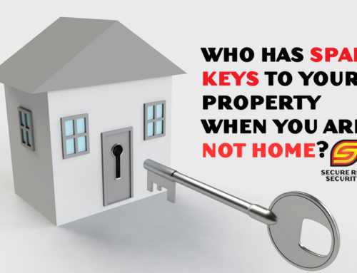 Who should have spare keys to your property?