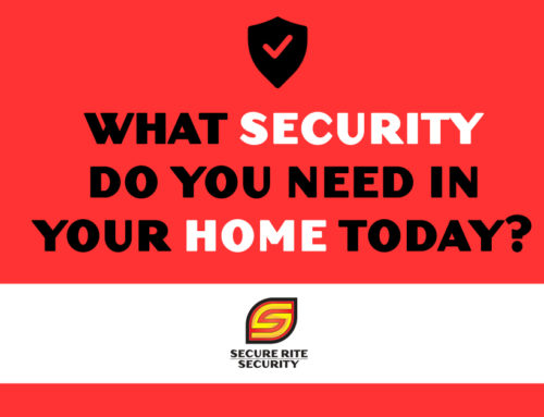 What security do you need in your home today?