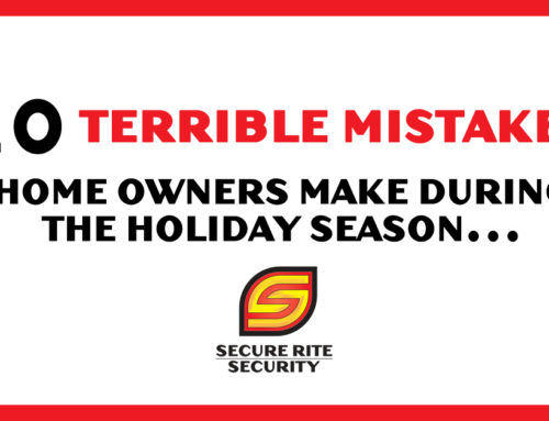 10 Terrible mistakes home owners make during the holiday season