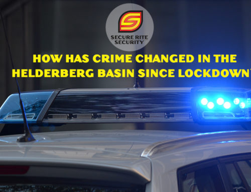 How has crime changed in the Helderberg basin since lockdown?
