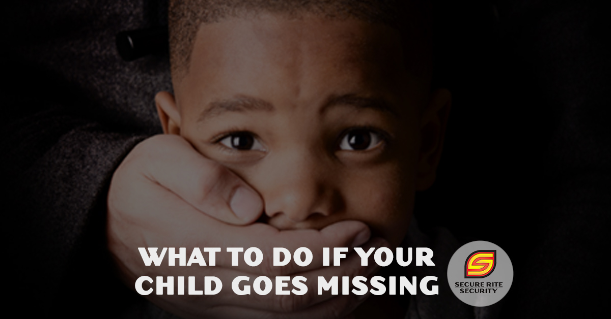 What to do if your child goes missing