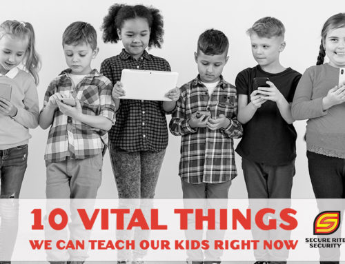 Being safe online: 10 Vital things we can teach our kids right now