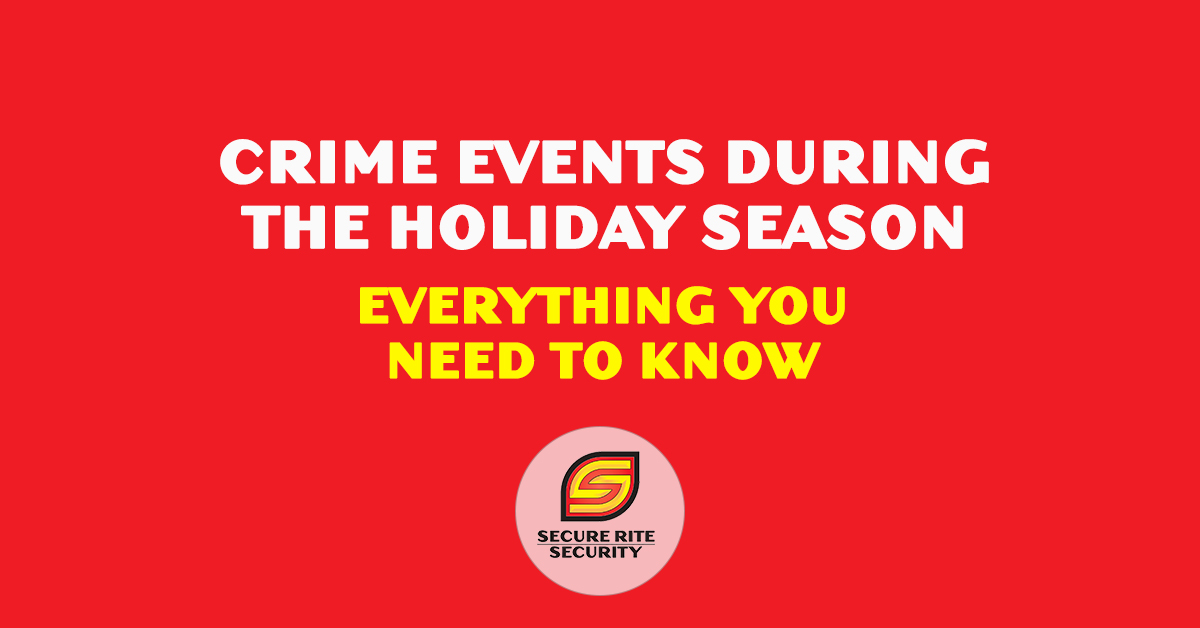 Crime events during the holiday season